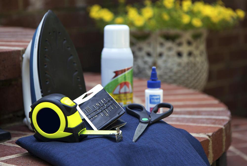 DIY outdoor cushion supplies