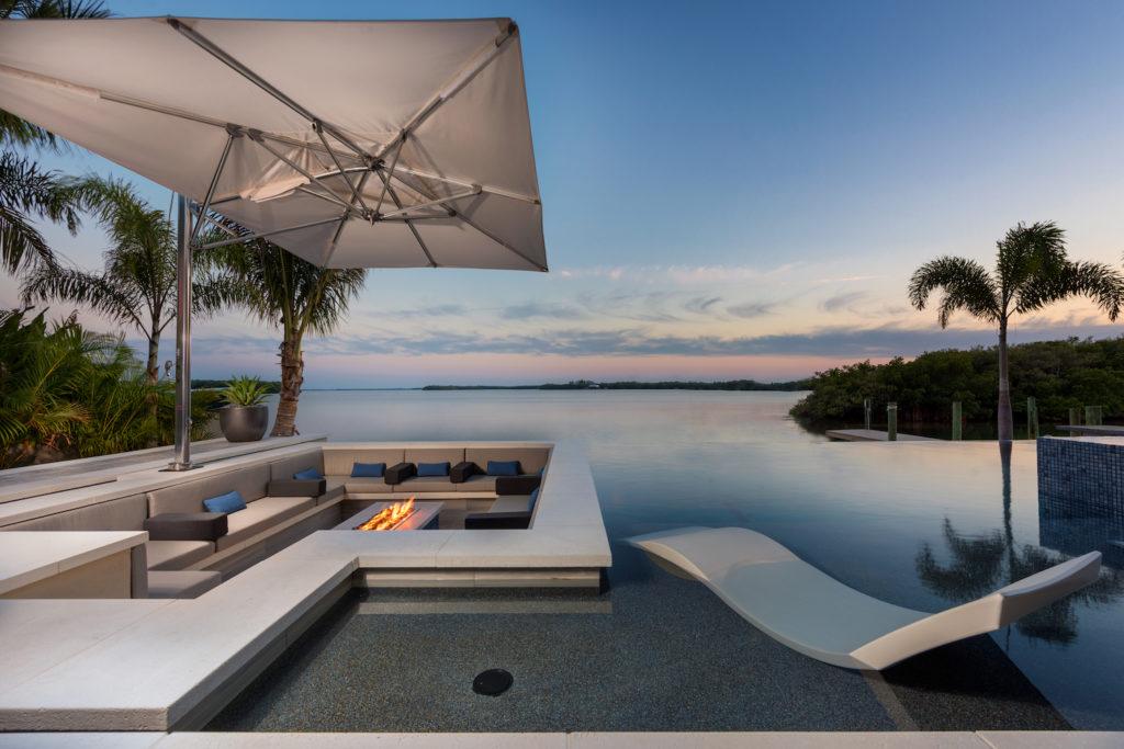 sleek outdoor furniture