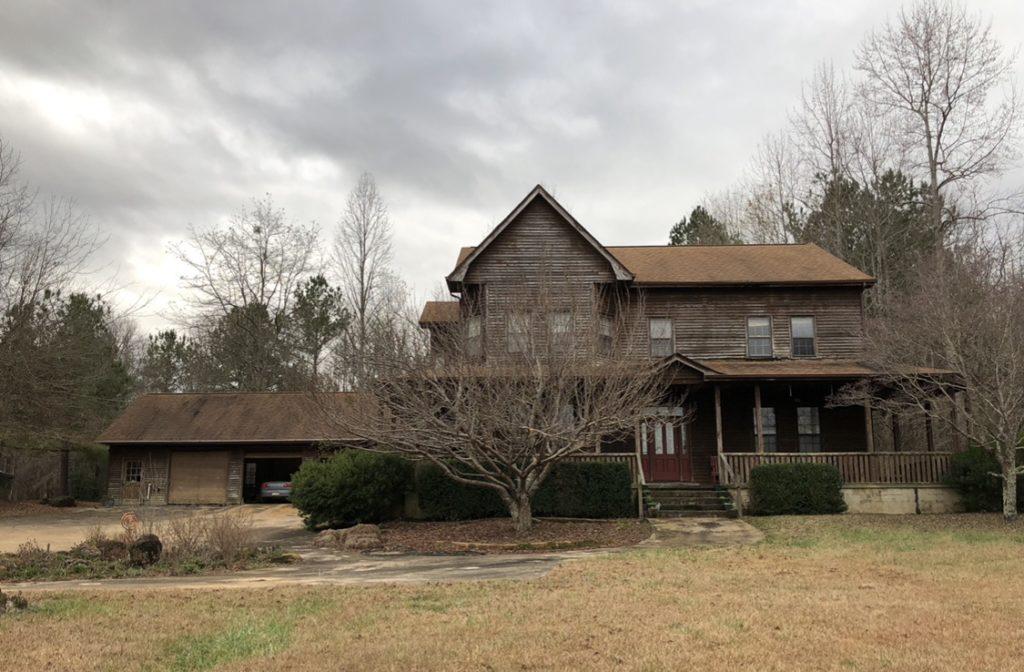 brown farmhouse