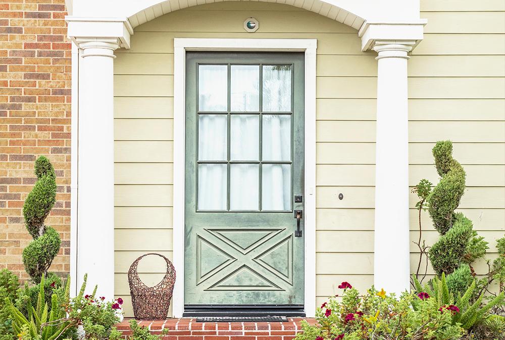 Front Door Rustic