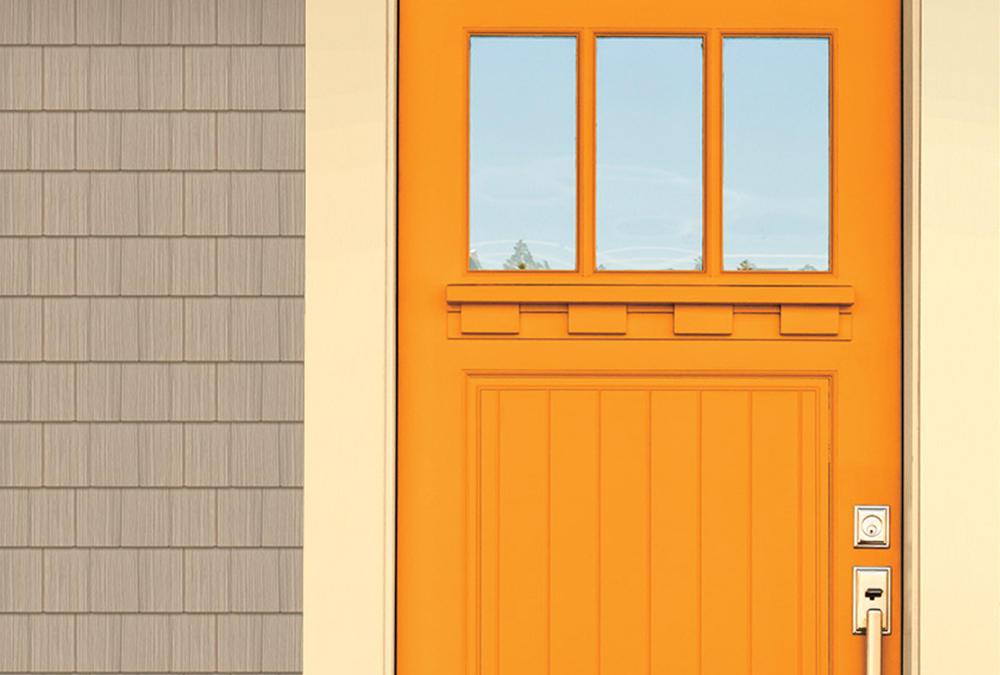 Front Door Bright Orange